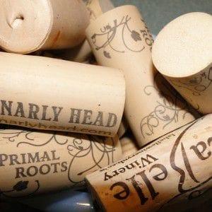 Korken für den selbstgemachten Wein
