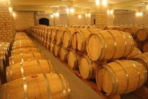 Professionelles altern von Wein
