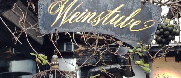 Weinstube Eingang